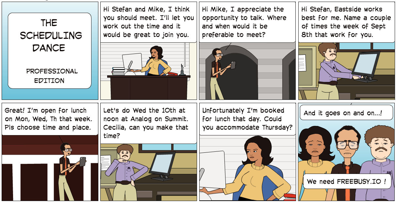 business professional meeting schedule calendar